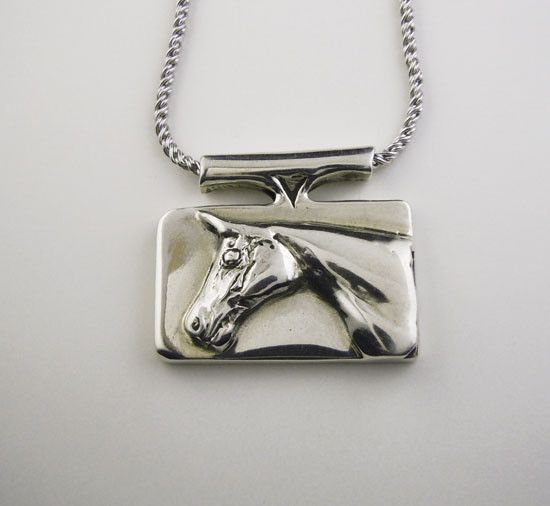 Classy Horse Head Necklace