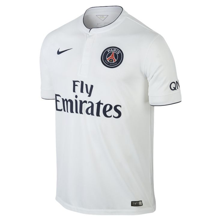 Paris Saint-Germain's 14/15 away jersey personifies simplicity and elegance. What else would you expect from the Parisian club?