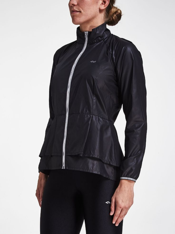 Flying Run Jacket, BLACK