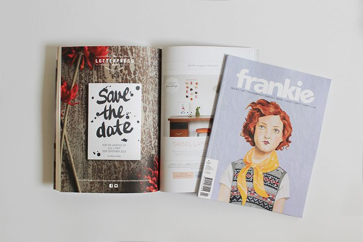 Oh hey there Frankie!  Issue 66 is on sale now and you can check out The Letterpress Studio on page 92!!