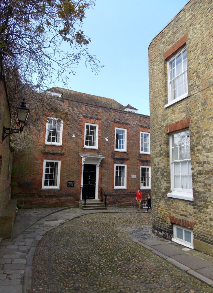 This is Lamb House in Rye, East Sussex, England. It was the home of writer Henry James and later E.F Benson who renamed the house 'Mallards' in his Mapp and Lucia novels and spoke lovingly of the house and garden. the house is open to the public and many of Henry James's possessions can be viewed. By B Lowe