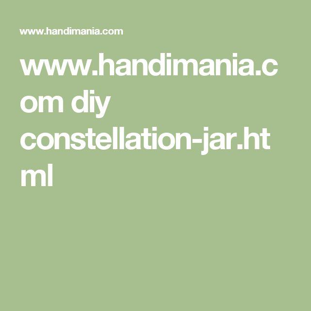 www.handimania.com diy constellation-jar.html