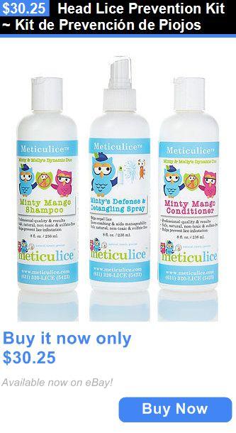 Medicated Hair Treatments: Head Lice Prevention Kit ~ Kit De Prevención De Piojos BUY IT NOW ONLY: $30.25