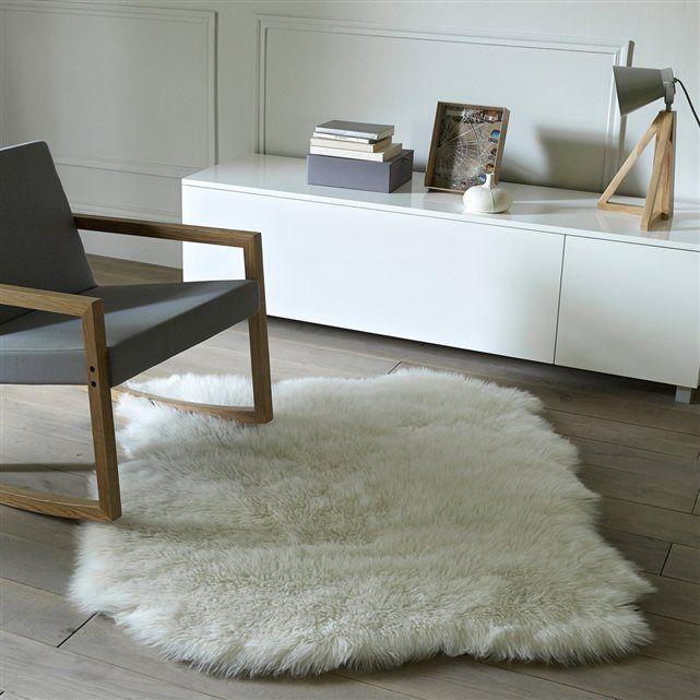Tapis peau de mouton Livio, 110 x 130 cm la Redoute http://www.laredoute.fr/ppdp/prod-324463920.aspx?docid=00000000000001#searchkeyword=livio