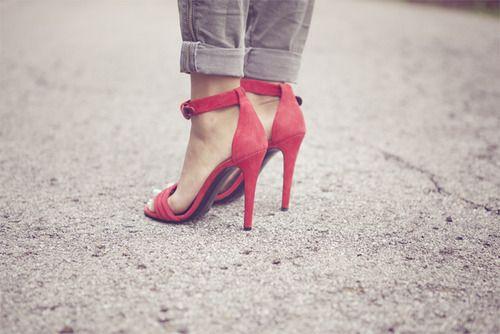 Casual heels.