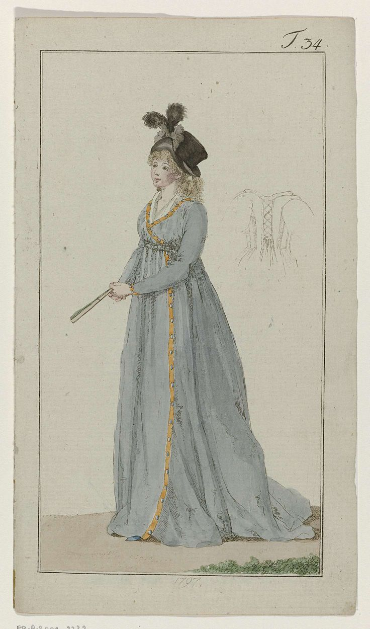 Journal des Luxus und der Moden, 1797, T 34, Georg Melchior Kraus, 1797
