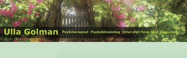 therapist - psykoterapeut.  Ulla is a wonderful therapist