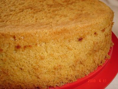 Tortaimádó: Rizslisztes piskóta tortalap (gluténmentes)