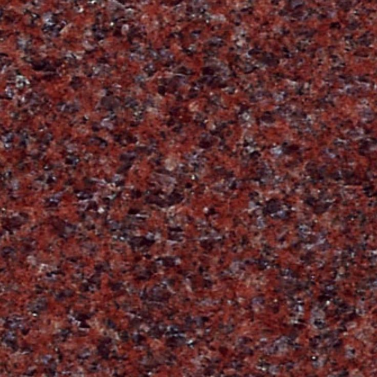 Red Granite Stone : Dark red granite with tiny flecks of blue light