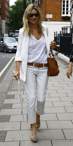 Kate Moss Style and Fashion - Kate Moss for Longchamp Gloucester Tote - Celebrity Style Guide