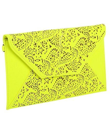 You've Got Mail: Upgrade your hand candy with these so-sleek envelope clutch bags