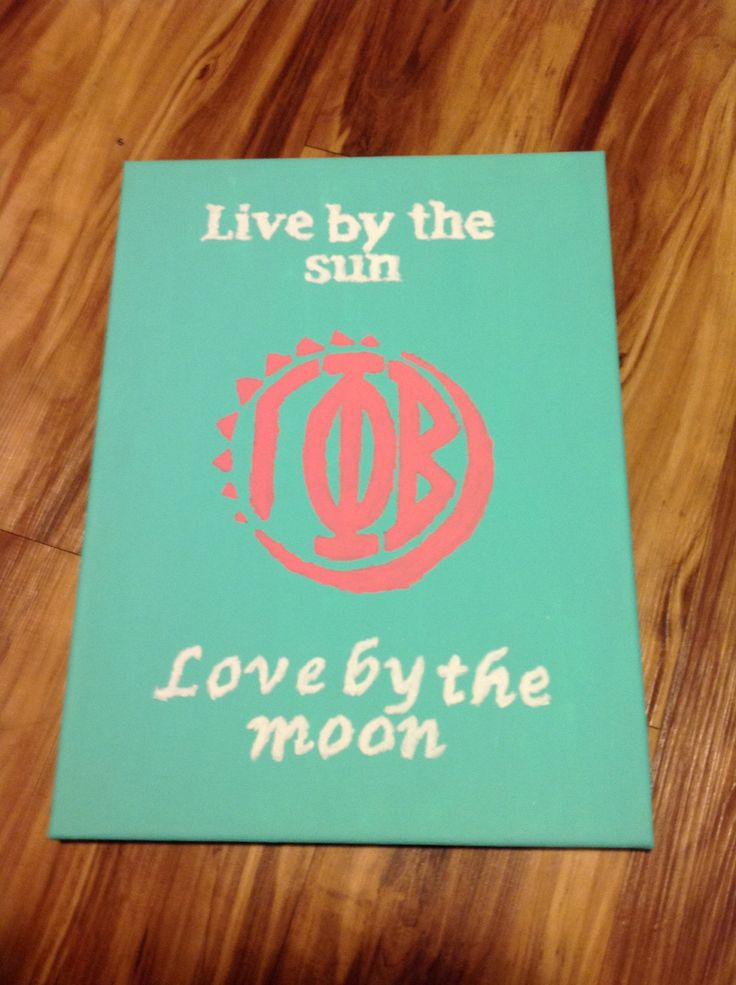 Live by the sun. Love by the moon. Gamma Phi Beta