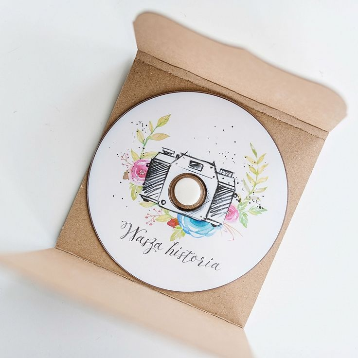 "DVD floral camera  #dvd with #print #customdesign also with your ""logo Great for #photographer and #phodographybusiness"