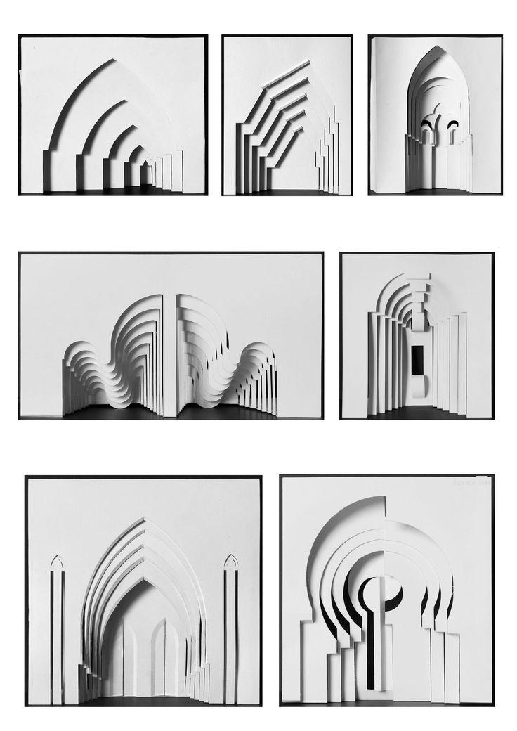 макетирование из бумаги рельеф - Поиск в Google