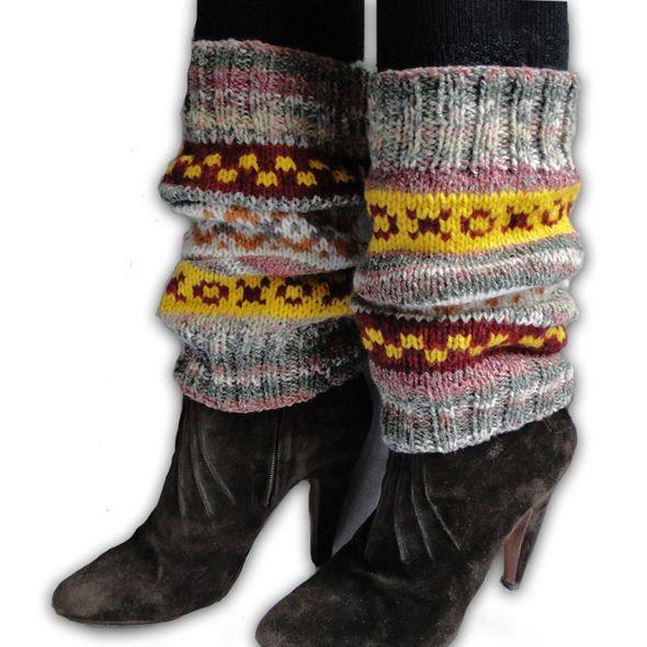 Iona Designer Leg Warmers