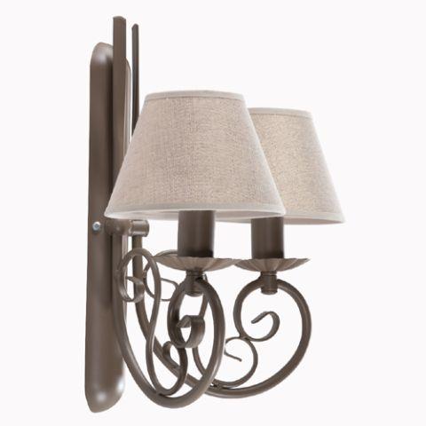 Kinkiet Podwójny RAJNER nr 2684 #Lampa typu #Kinkiet - #Lampy i #Oświetlenie #DlaDomu