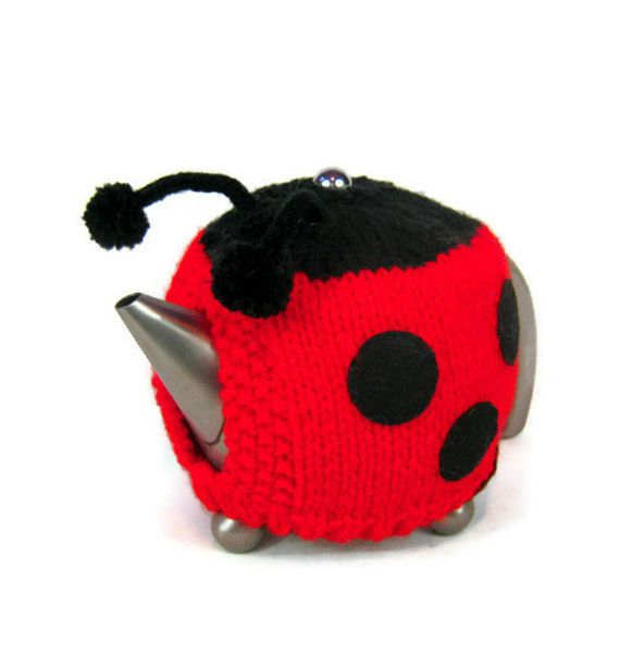 Knitting Ladybug Ladybird Headband : Best images about tea cosies on pinterest christmas