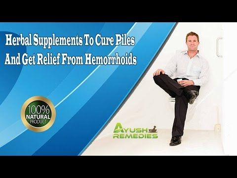 You can find more herbal supplements to cure piles at http://www.ayushremedies.com/internal-hemorrhoids-treatment.htm