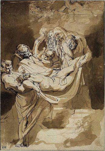 Peter Paul Rubens - - drawing
