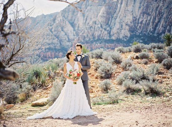 Elegant Outdoor Wedding At Red Rocks