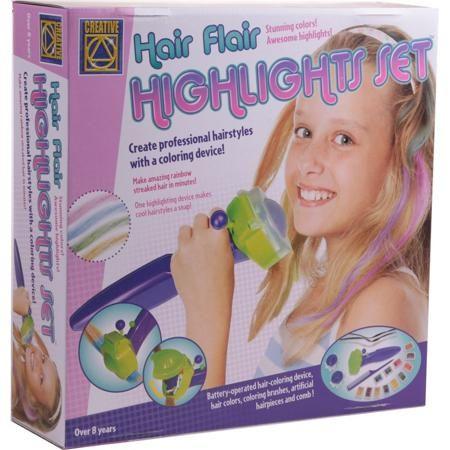 """CREATIVE Набор Радуга в твоих волосах  — 1490р. ---------------- Набор """"Радуга в твоих волосах"""" марки Creative для девочек. Потрясающий набор для юных модниц,с помощью которого можно легко и безопасно окрасить волосы или искусственные пряди, которые прилагаются к комплекту, в яркие цвета.Оттеночные краски, входящие в набор, нетоксичны и безвредны для здоровья и без труда смываются водой и шампунем. Подробная инструкция и удобные инструменты позволят девочке справиться с задачей…"""