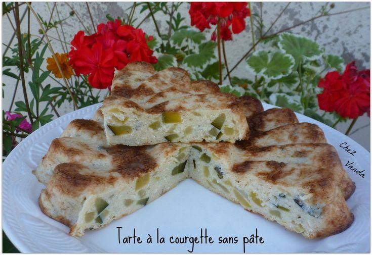 Tarte à la courgette sans pâte (et ses variantes)