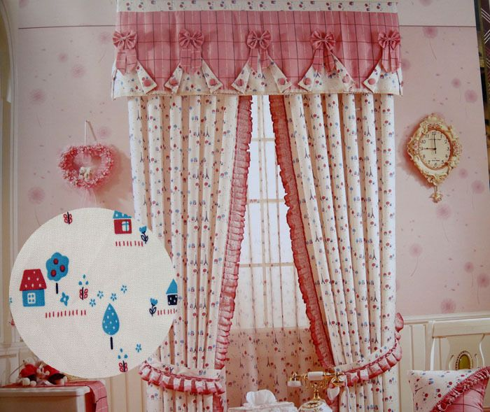 pinterest flores de tela para cortinas - Buscar con Google