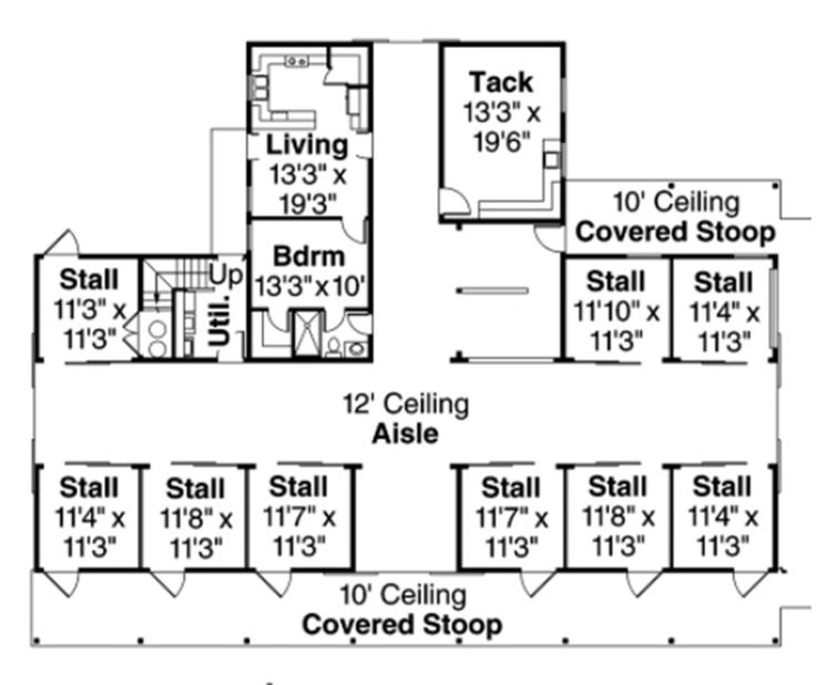 1000 images about barn on pinterest for House barn combo plans