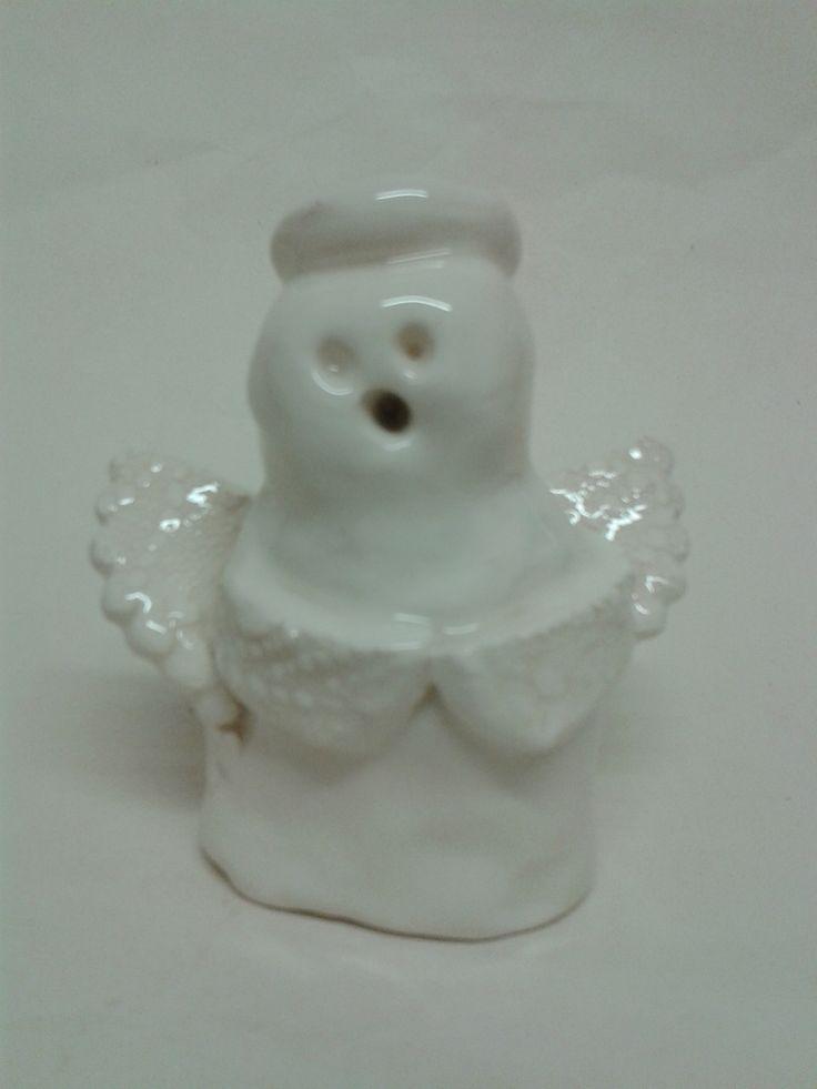 Rhianna's (snow) angel glazed all white