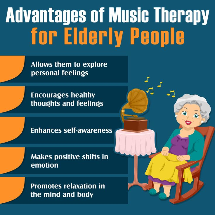 Advantages of Music Therapy for Elderly People