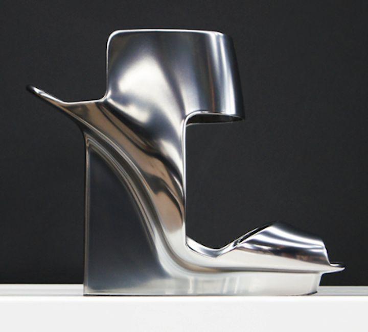 Pierre Hardy, a Concept shoe for 'Peugeot.'