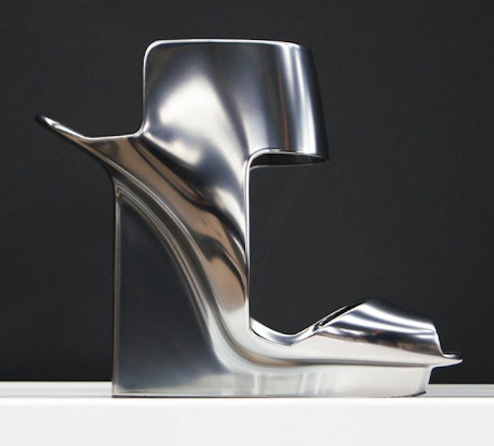 Pierre Hardy, a Concept shoe for 'Peugeot.'