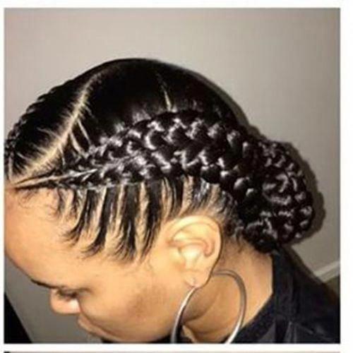 Center Parted Goddess Braid #goddessbraids   – goddess braids – #braid #Braids #…   – Braid