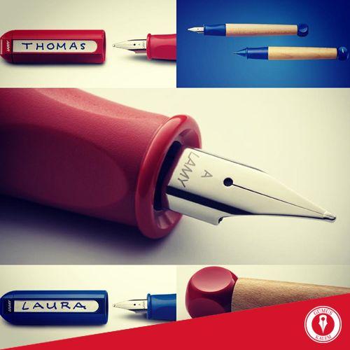 Çocuğunuz için doğru seçim: Lamy ABC başlangıç kalemi! Kolay kullanımı ve eğlenceli dizaynıyla öne çıkan Lamy ABC, pedagojik açıdan cocuklar için tasarlanmıştır. www.gumuskalem.com.tr
