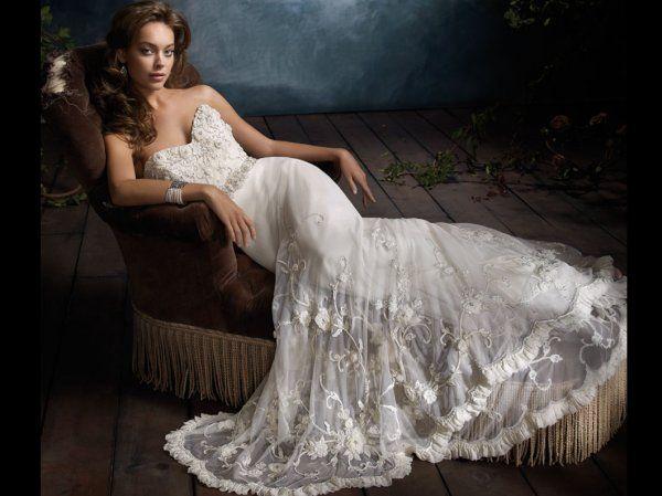 117 best Lazaro images on Pinterest | Hochzeitskleider, Brautkleider ...