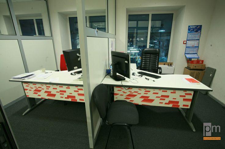 Meble biurowe dla Gemo Group, system Ergo
