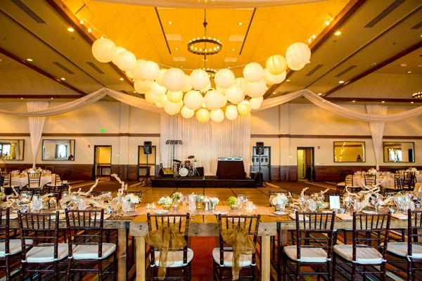 Lakeside Ballroom Real Lake Tahoe Wedding At Hyatt Regency Weddings Resort Spa And Pinterest