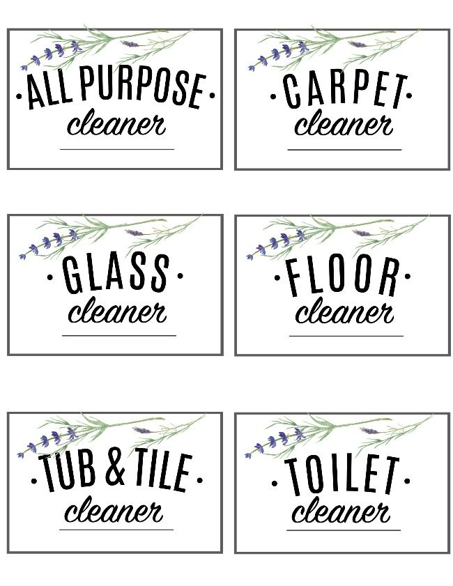 Free Printables Organization Households Cleaning Schedules