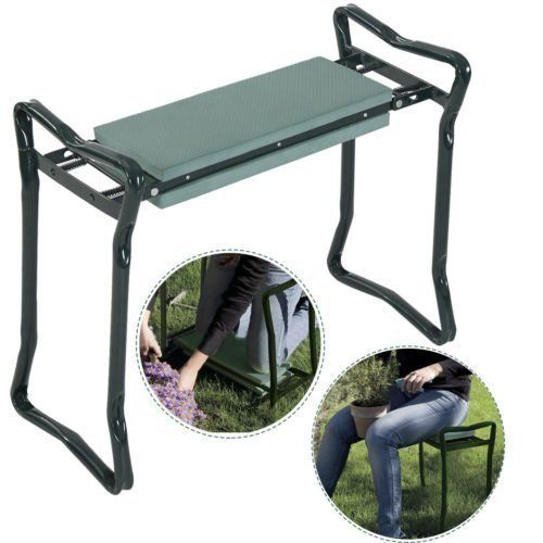 Goplus Folding Sturdy Garden Kneeler Gardener Kneeling Pad  Cushion Seat Knee Pad Seat by Super buy >>> Check out this .