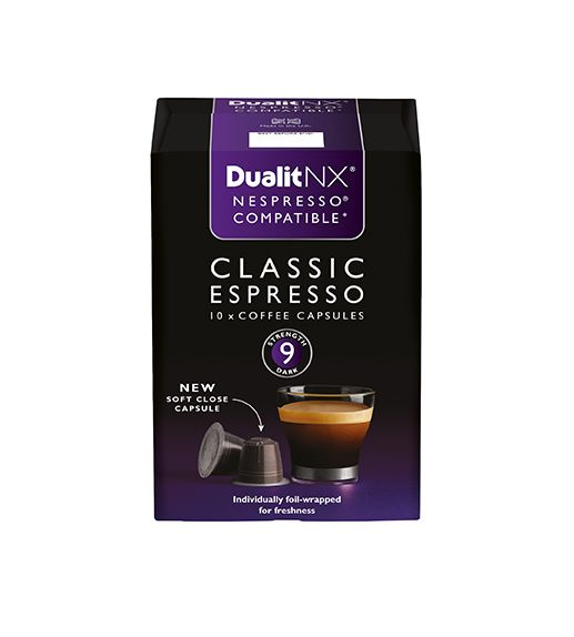Dualit NX Coffee Capsule – Classic Espresso  A selection of the very best…