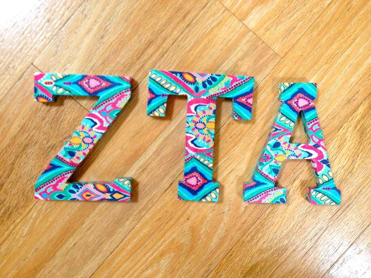 Sorority Craft Room: Photo, this, but in appropriate colors