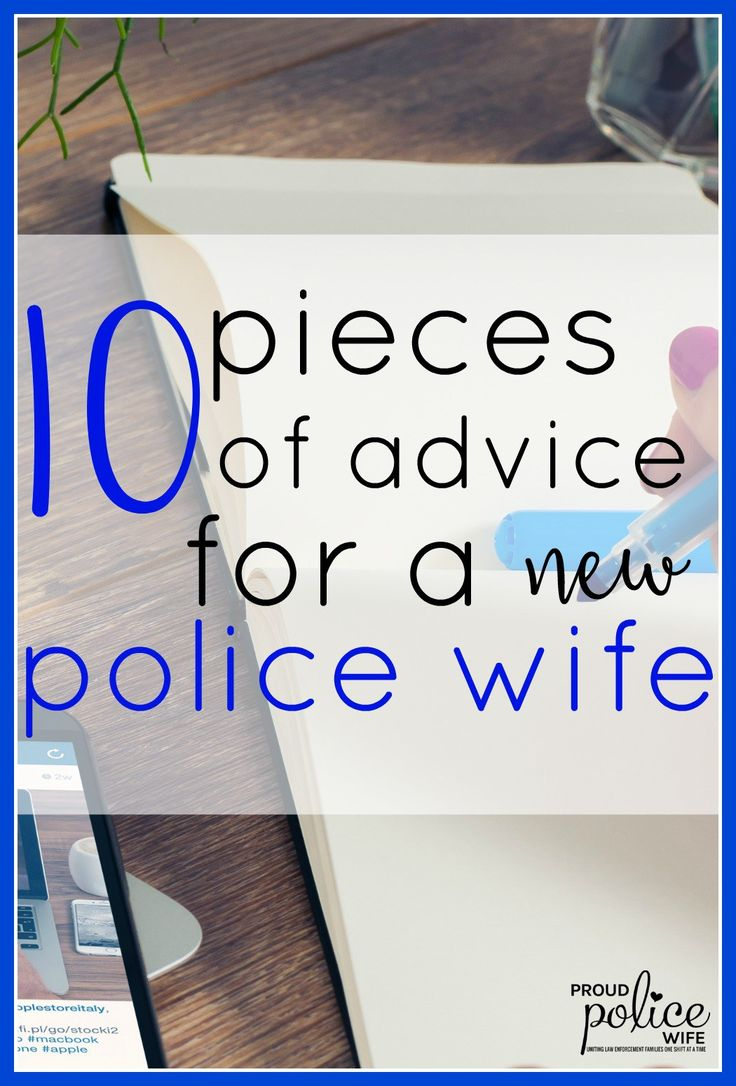 I am so new to this law enforcement world. I could really use these tips to get started as a police wife.