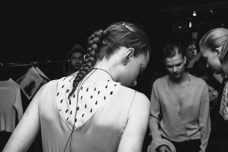 Backstage at Greta Gram AW16   ODALISQUE DIGITAL