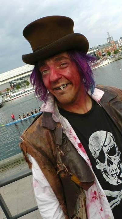 Beim Drachenbootrennen rockten die Untoten vom Grusellabyrinth Kiel die Hörn... http://grusellabyrinth.de