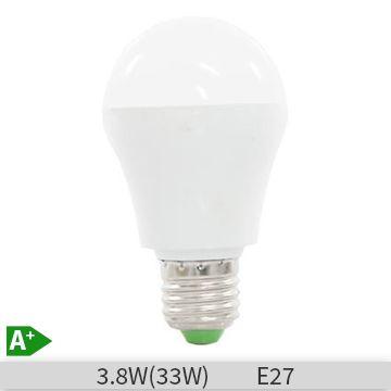 Bec LED Albach forma clasica 3.8W A55 E27 lumina rece