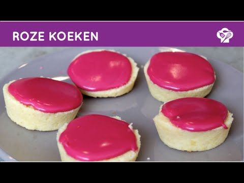 Vind jij roze koeken ook zo lekker? Met dit gemakkelijke recept heb jij ze zo gemaakt! - Zelfmaak ideetjes