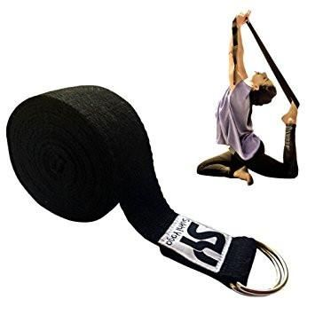 Super Soft Yoga Strap with D-Ring Perfect for Stretching, Holding Poses, Improving Flexibility and Physical Therapy Description: SOFTEST STRAP AVAILABLE. Made w