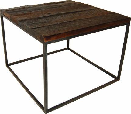 Soffbord trä och järn - vintage i gruppen Bord / Soffbord hos Reforma Sthlm  (M0401)