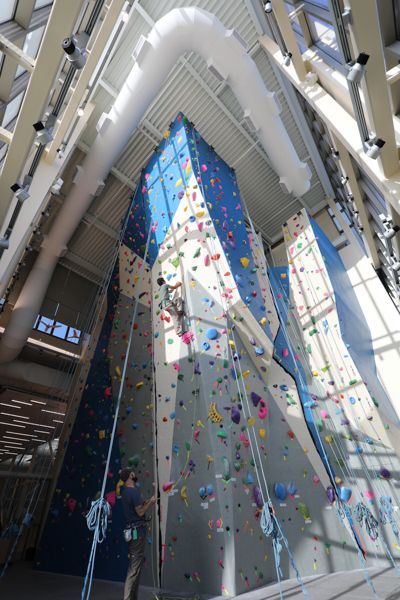 Climbing Walls for Colleges and Universities | rock ...