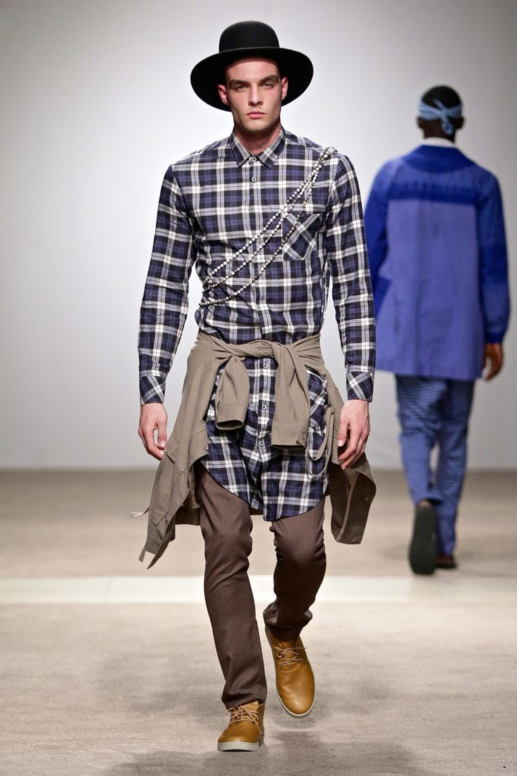 ALC Menswear AW17: Look 9 -- Photo: Simon Deiner at South African Menswear Week